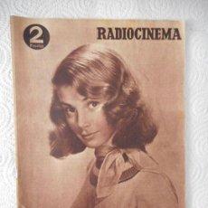 Cine: RADIOCINEMA Nº 210 - 31-7-1954-. PORTADA PIER ANGELI. CONTRAPORTADA CARY GRANT. Lote 96176283