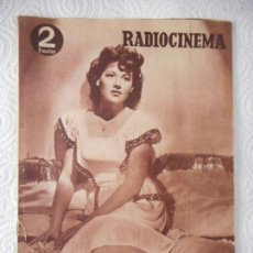 Cine: RADIOCINEMA Nº 216 - 11-9-1954-. PORTADA CONSTANCE WEILER. CONTRAPORTADA GILBERT ROLAND. Lote 96176799