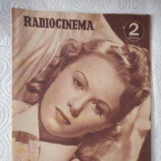 Cine: RADIOCINEMA Nº 217 - 18-9-1954-. PORTADA SUSANA CANALES. CONTRAPORTADA ROBERT TAYLOR Y SU ESPOSA. Lote 96176859