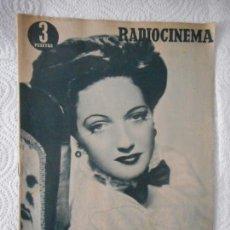 Cine: RADIOCINEMA Nº 227 - 27-11-1954-. PORTADA DOROTHY LAMOUR. CONTRAPORTADA TONY CURTIS. Lote 96177067