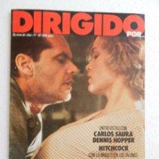Cine: REVISTA DE CINE DIRIGIDO POR Nº 83 MAYO 1983. ENTREVISTA A CARLOS SAURA. . Lote 96568835