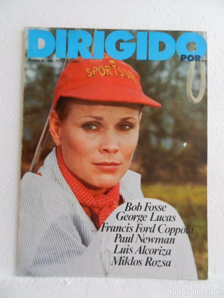 REVISTA DE CINE DIRIGIDO POR Nº 51 FEBRERO 1978. ENTREVISTA A LUIS ALCORIZA. (Cine - Revistas - Cine Mundial)