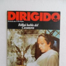 Cine: REVISTA DE CINE DIRIGIDO POR Nº 59 NOVIEMBRE 1978. ENTREVISTA A ROBERT ALTMAN.. Lote 181152598