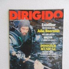 Cine: REVISTA DE CINE DIRIGIDO POR Nº 85 AGOSTO SEPTIEMBRE 1981. ENTREVISTA A JOHN BOORMAN. . Lote 96570519