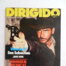 Cine: REVISTA DE CINE DIRIGIDO POR Nº 86 OCTUBRE 1981. FESTIVAL DE CINE DE SAN SEBASTIAN. . Lote 96572459