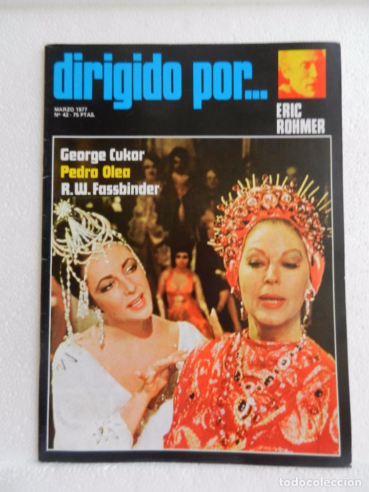 REVISTA DE CINE DIRIGIDO POR Nº 42 MARZO 1977. ERIC ROHMER. (Cine - Revistas - Cine Mundial)