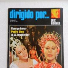 Cine: REVISTA DE CINE DIRIGIDO POR Nº 42 MARZO 1977. ERIC ROHMER.. Lote 96573195
