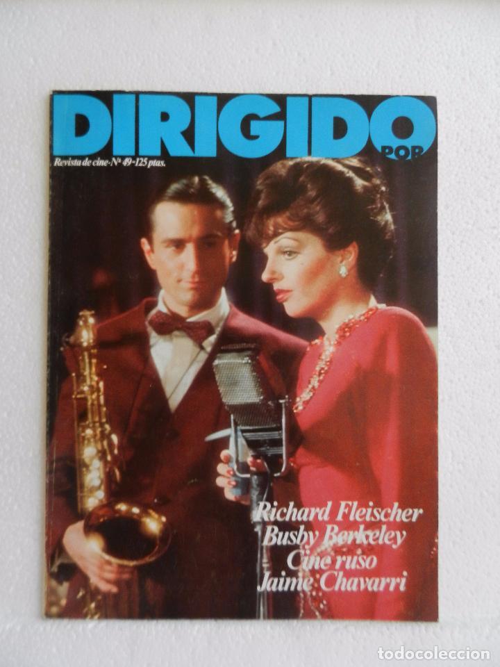 REVISTA DE CINE DIRIGIDO POR Nº 49 DICIEMBRE 1977. RICHARD FLEISCHER. (Cine - Revistas - Cine Mundial)