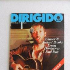 Cine: REVISTA DE CINE DIRIGIDO POR Nº 56 JULIO AGOSTO 1978. DOS VISIONES DE HEMINGWAY.. Lote 96574767