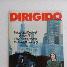 Cine: REVISTA DE CINE DIRIGIDO POR Nº 57 SEPTIEMBRE 1978. ÚLTIMO ADIÓS A LEOPOLDO TORRE NILSSON.. Lote 96574955