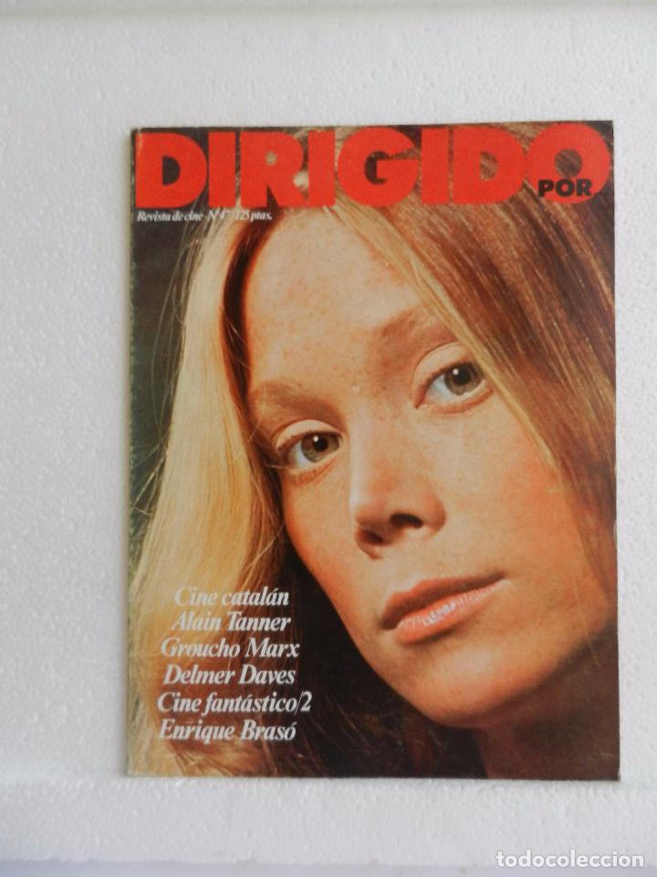 REVISTA DE CINE DIRIGIDO POR Nº 47 SEPTIEMBRE 1977. ENTREVISTA CON ENRIQUE BRASÓ. (Cine - Revistas - Cine Mundial)
