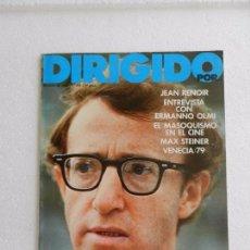 Cine: REVISTA DE CINE DIRIGIDO POR Nº 66 SEPTIEMBRE 1979. ENTREVISTA CON ERMANNO OLMI. Lote 96575587