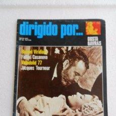 Cine: REVISTA DE CINE DIRIGIDO POR Nº 44 MAYO 1977. COSTA GAVRAS. . Lote 96575943