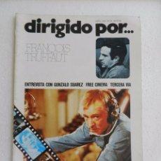 Cine: REVISTA DE CINE DIRIGIDO POR Nº 22 ABRIL 1975. FRANCOIS TRUFFAUT. . Lote 96576095