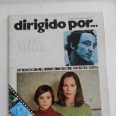 Cine: REVISTA DE CINE DIRIGIDO POR Nº 30 FEBRERO 1976. LOUIS MALLE.. Lote 96576959