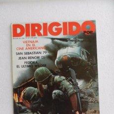 Cine: REVISTA DE CINE DIRIGIDO POR Nº 67 VIETNAM EN EL CINE AMERICANO. . Lote 96577187
