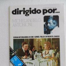 Cine: REVISTA DE CINE DIRIGIDO POR Nº 27 OCTUBRE 1975.. MICHEL ANGELO ANTONIONI. . Lote 96577267