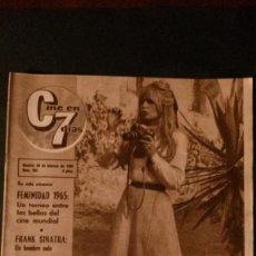 Cine: CINE EN 7 DIAS-202-1965-BRIGITTE BARDOT- THE BEATLES-RINGO STARR. Lote 96639919