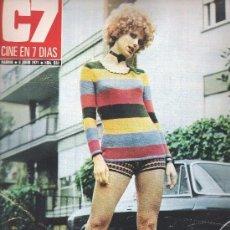 Cine: CINE EN 7 DIAS - 1971 Nº 530 - ISABEL BLANCO - GEORGE PEPPARD - SALLY KELLERMAN - GERMANA ELKE. Lote 96694911