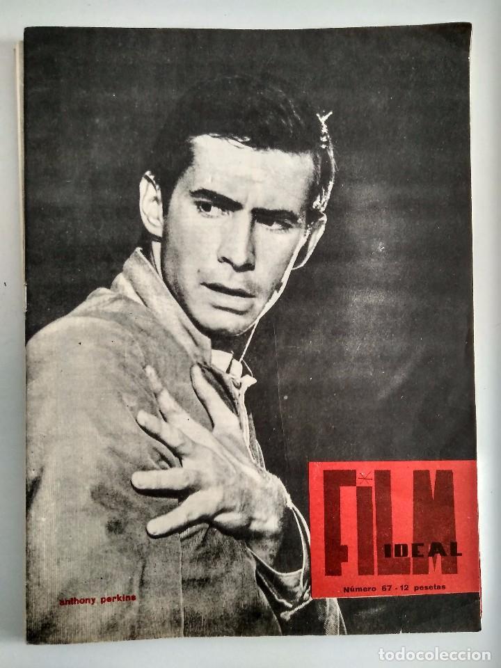 FILM IDEAL, AÑO 1961 NRO 67 (Cine - Revistas - Film Ideal)
