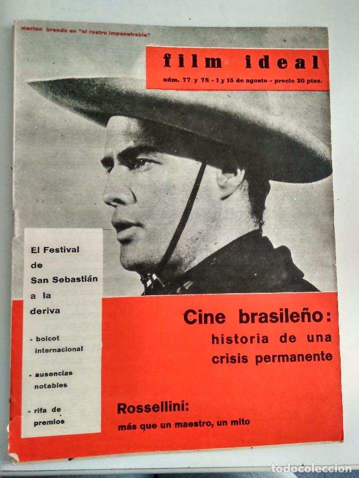 FILM IDEAL, NRO 77 Y 78 (Cine - Revistas - Film Ideal)