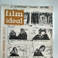 Cine: FILM IDEAL, NRO 85, AÑO 1 DIC 1961. Lote 96776195