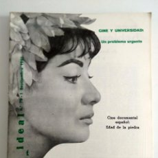 Cine: FILM IDEAL, NRO 79, AÑO 1 SEPT 1961. Lote 96776407