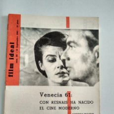 Cine: FILM IDEAL, NRO 80, 15 SEPT 1961. Lote 96776543