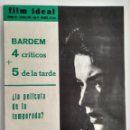 Cine: FILM IDEAL, NRO 81, 1 OCT 1961. Lote 96777203