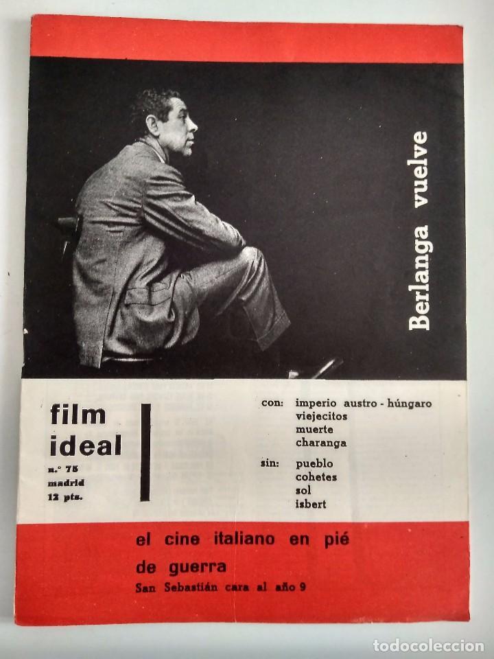 FILM IDEAL, NRO 75, JUL 1961 (Cine - Revistas - Film Ideal)