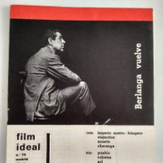 Cine: FILM IDEAL, NRO 75, JUL 1961. Lote 96777407