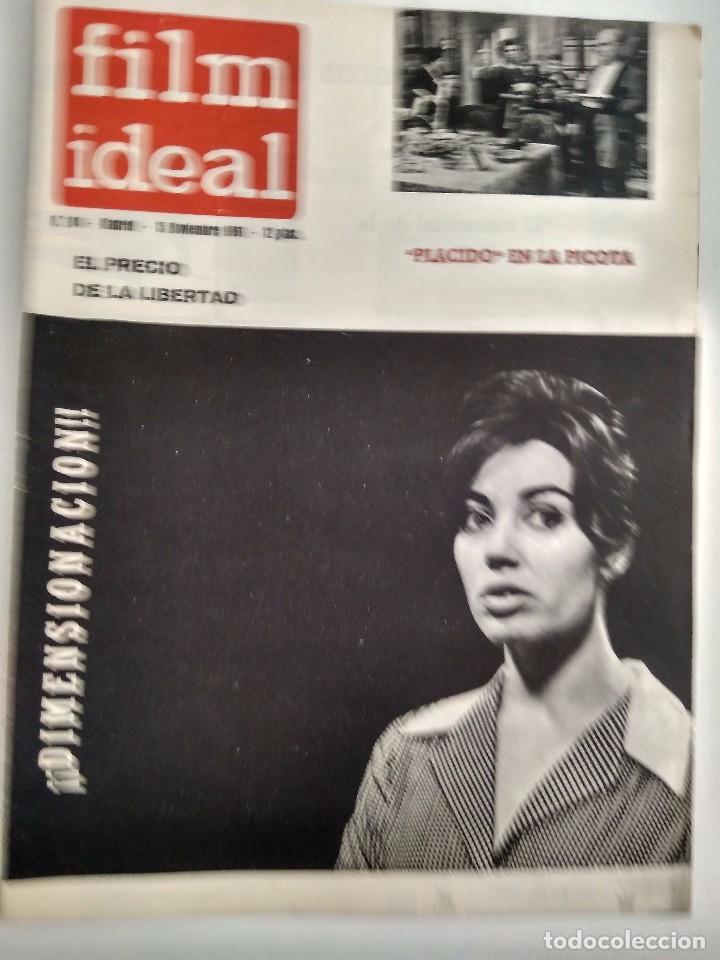 FILM IDEAL, NRO 84, 15 NOV 1961 (Cine - Revistas - Film Ideal)