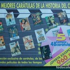 Cine: LAS MEJORES CARATULAS DE LA HISTORIA DEL CINE Nº 5 48 CARATULAS. Lote 96818287