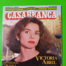 Cine: CASABLANCA Nº 38 UNA OBRA IMPRESCINDIBLE DE LOS AÑOS 80. Lote 96887567