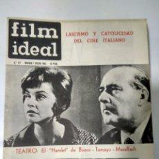 Cine: 24 REVISTAS FILM IDEAL, AÑO 1962 COMPLETO DESDE NRO 87 AL 110. Lote 97080731