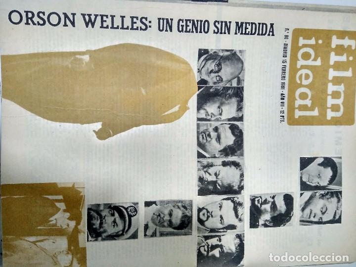 Cine: 24 REVISTAS FILM IDEAL, año 1962 COMPLETO desde nro 87 al 110 - Foto 3 - 97080731