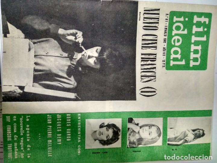 Cine: 24 REVISTAS FILM IDEAL, año 1962 COMPLETO desde nro 87 al 110 - Foto 4 - 97080731