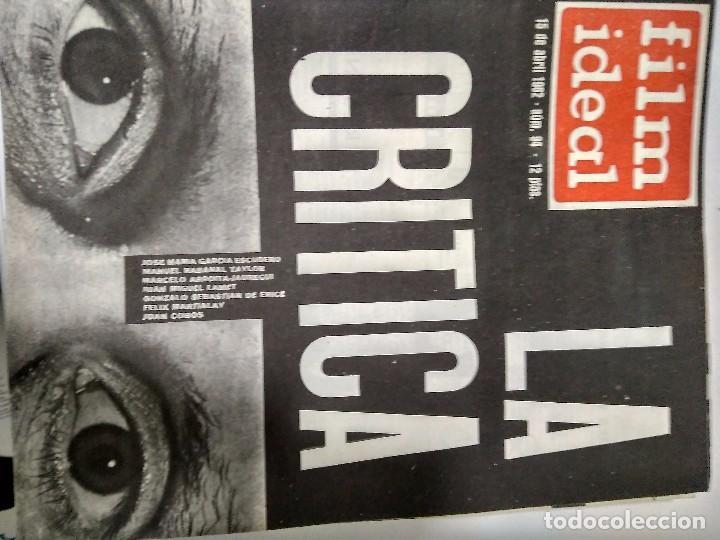 Cine: 24 REVISTAS FILM IDEAL, año 1962 COMPLETO desde nro 87 al 110 - Foto 7 - 97080731