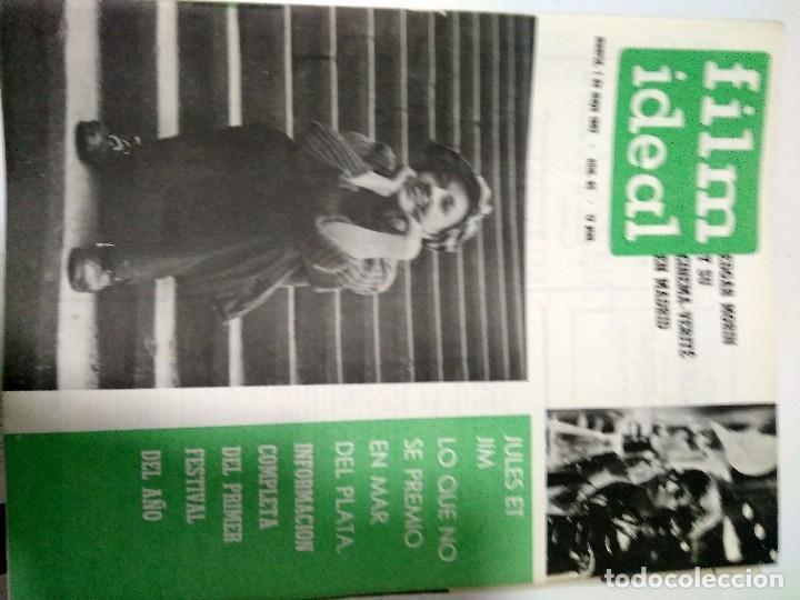 Cine: 24 REVISTAS FILM IDEAL, año 1962 COMPLETO desde nro 87 al 110 - Foto 8 - 97080731