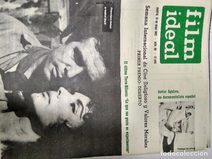 Cine: 24 REVISTAS FILM IDEAL, año 1962 COMPLETO desde nro 87 al 110 - Foto 9 - 97080731