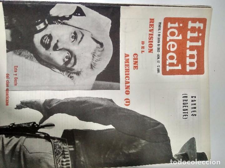 Cine: 24 REVISTAS FILM IDEAL, año 1962 COMPLETO desde nro 87 al 110 - Foto 10 - 97080731