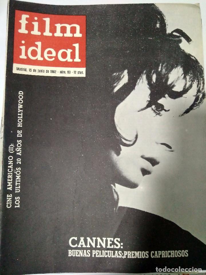 Cine: 24 REVISTAS FILM IDEAL, año 1962 COMPLETO desde nro 87 al 110 - Foto 11 - 97080731