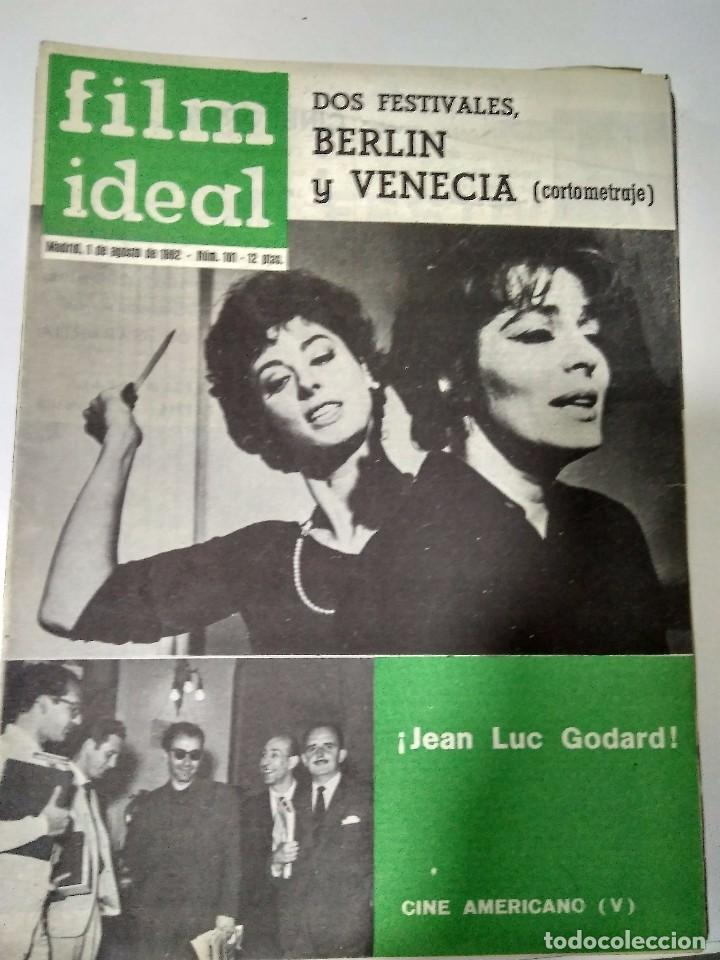 Cine: 24 REVISTAS FILM IDEAL, año 1962 COMPLETO desde nro 87 al 110 - Foto 12 - 97080731