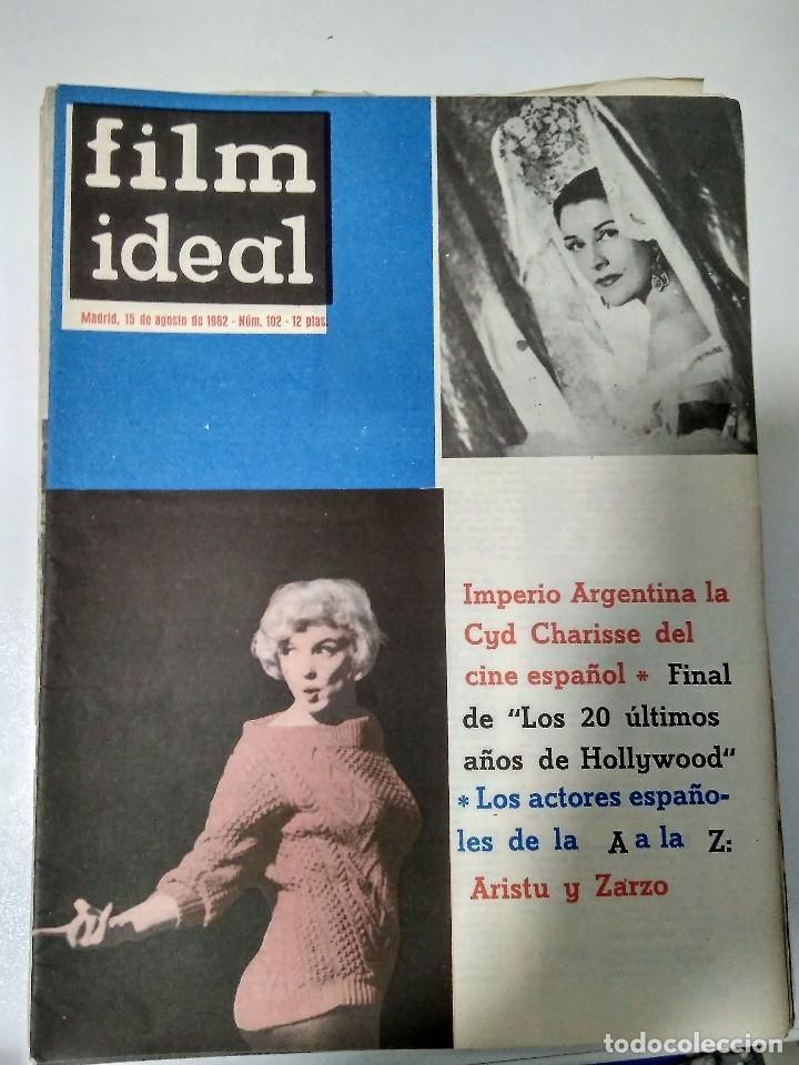 Cine: 24 REVISTAS FILM IDEAL, año 1962 COMPLETO desde nro 87 al 110 - Foto 13 - 97080731