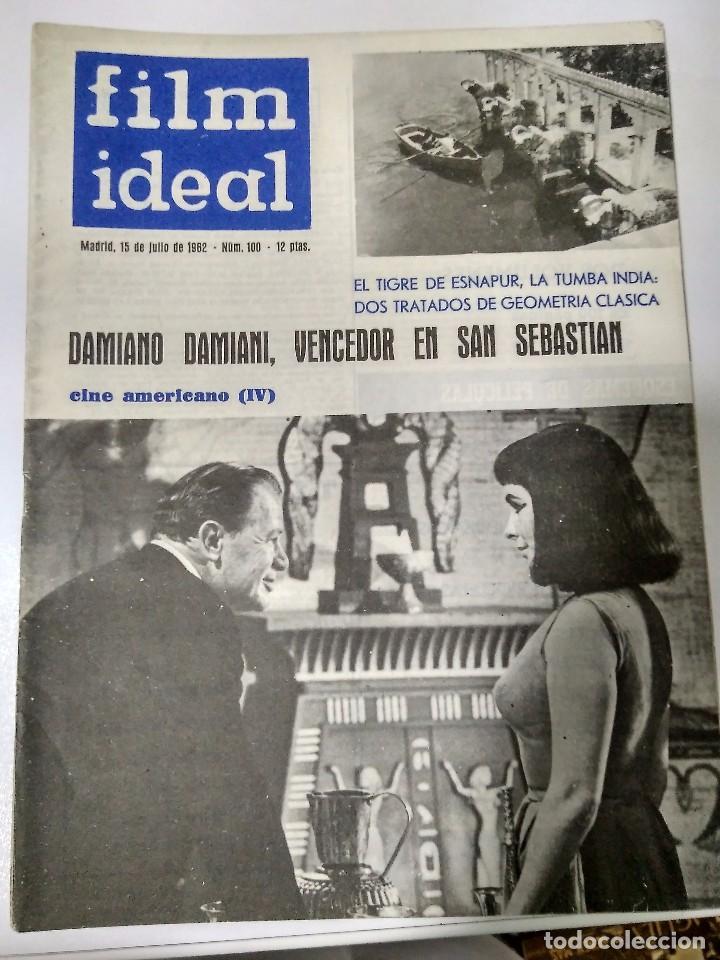 Cine: 24 REVISTAS FILM IDEAL, año 1962 COMPLETO desde nro 87 al 110 - Foto 20 - 97080731