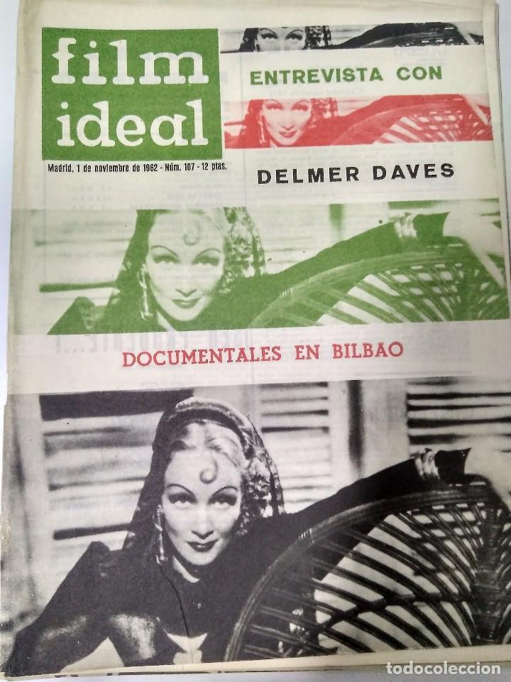Cine: 24 REVISTAS FILM IDEAL, año 1962 COMPLETO desde nro 87 al 110 - Foto 22 - 97080731