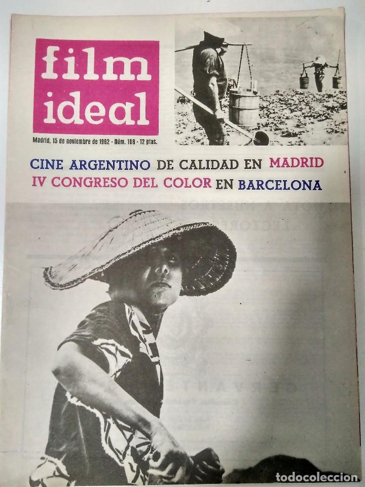Cine: 24 REVISTAS FILM IDEAL, año 1962 COMPLETO desde nro 87 al 110 - Foto 23 - 97080731