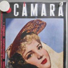 Cinéma: XX46 SARA MONTIEL REVISTA ESPAÑOLA CAMARA JULIO 1945. Lote 97228143