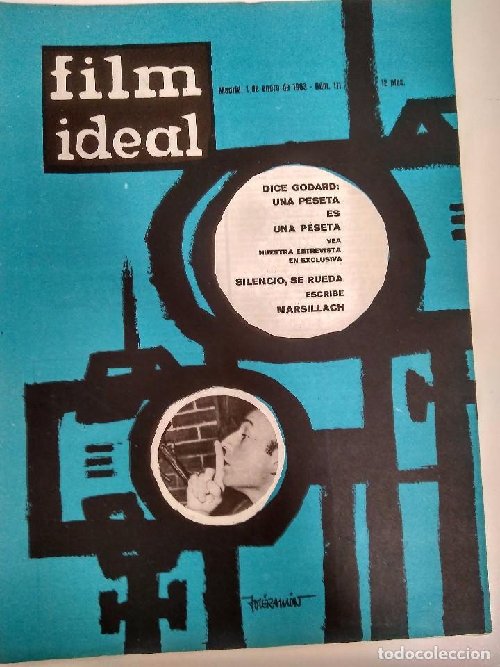 24 REVISTAS FILM IDEAL, AÑO 1963 COMPLETO, DESDE NRO. 111 AL 133 (Cine - Revistas - Film Ideal)