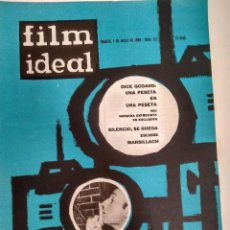 Cine: 24 REVISTAS FILM IDEAL, AÑO 1963 COMPLETO, DESDE NRO. 111 AL 133. Lote 97248203